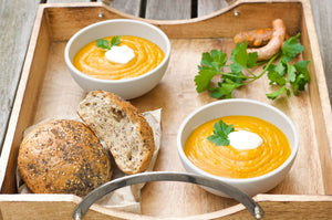 Pumpkin, Turmeric and Ginger Soup