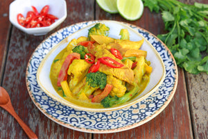 Turmeric and Coconut Chicken Curry
