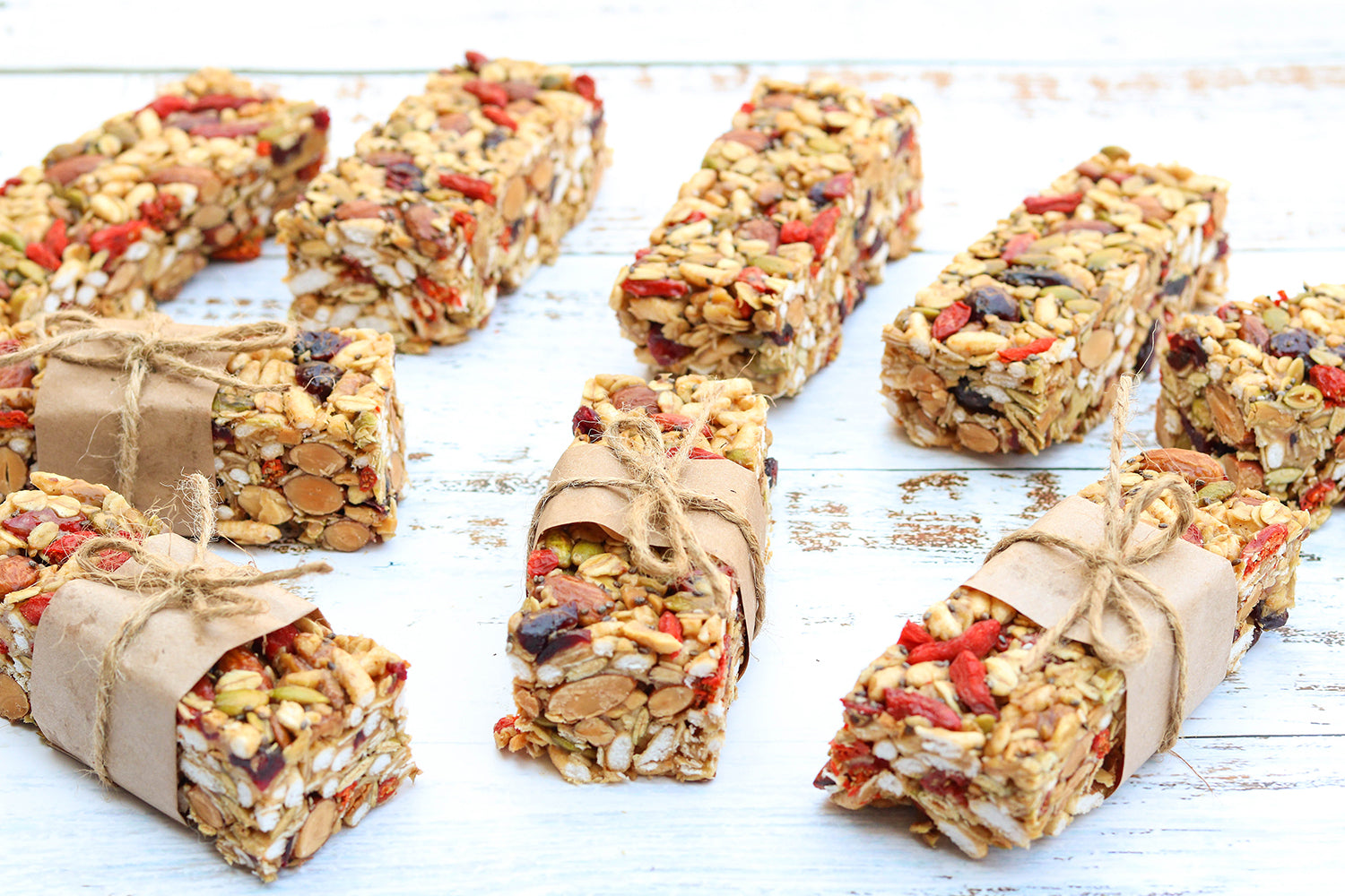 Superfood Muesli Bars