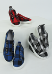 (FLASH SALE - 60% OFF) 2020 New Arrival Plaid Slip-On Round Toe Flat Sneakers