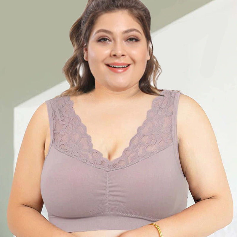Push Up Comfort Super Elastic Breathable Lace Bra  (BUY 4 PAY 3 - ONLY TODAY)