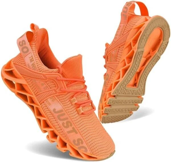Non-slip breathable sport shoes, Running Shoes Walking Non Slip Blade Type Sneakers