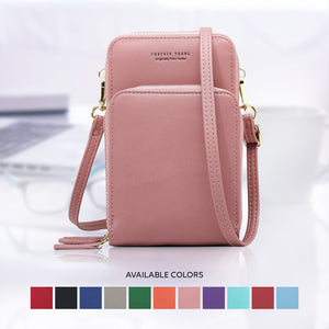 (Buy 2 GET 3 - Only This Week) 3-Layers Leather Crossbody Shoulder Bag