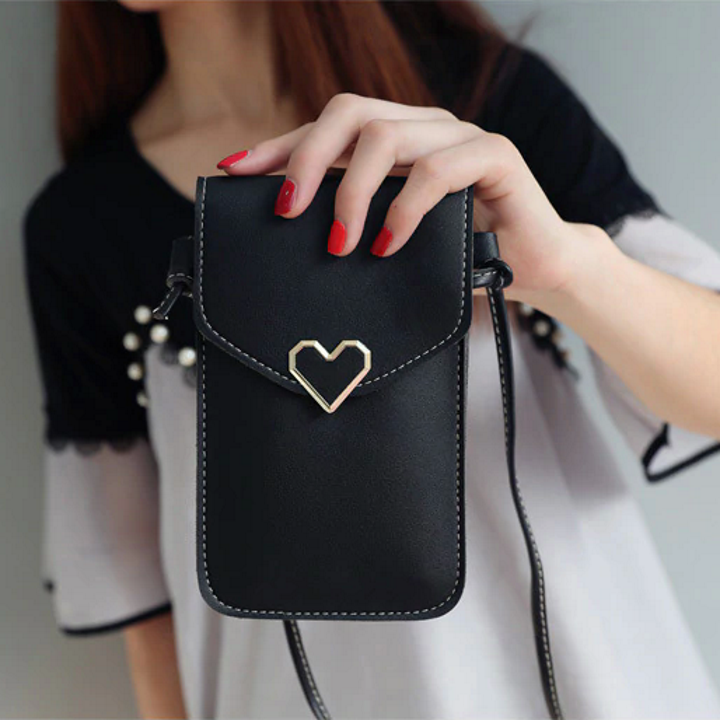 [Buy 3 Pay 2 - ONLY Today] Versatile Touchable PU Leather Mobile Phone Bag