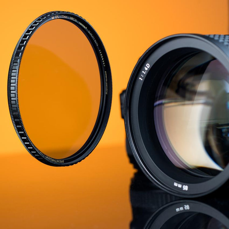 X4 CPL - Circular Polariser Filter by Breakthrough