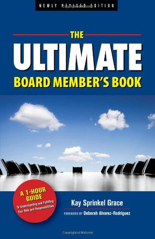 Book - The Ultimate Board Member's Book