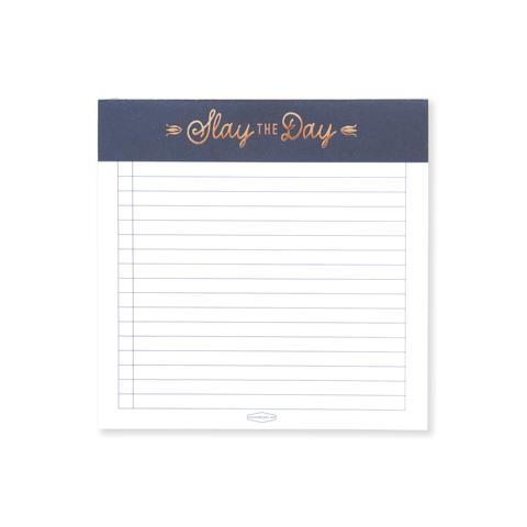 Notepad - Slay the Day