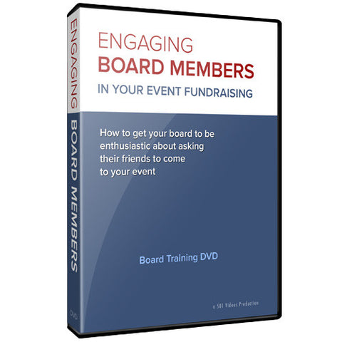 Engaging board members in your event fundraising