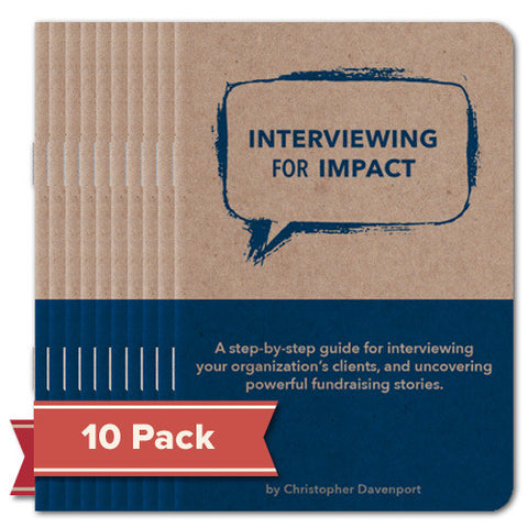 Booklet - Interviewing for Impact 10 pack