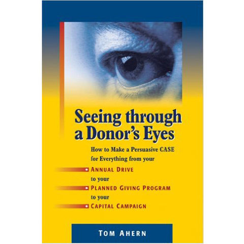 Book - Seeing Through a Donor's Eyes