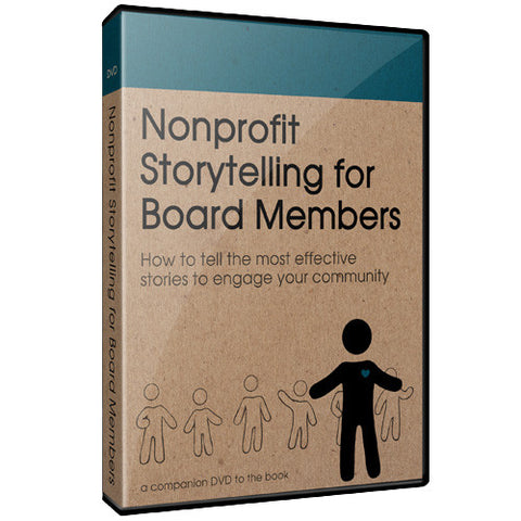 Nonprofit Storytelling for Board Members - conference special