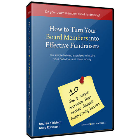 How to turn your board members into effective fundraisers