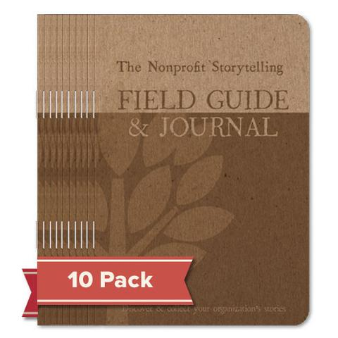 The Nonprofit Storytelling Field Guide & Journal - 10 pack
