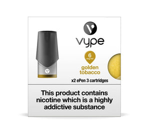 Vype ePen 3 Golden Tobacco Cartridges