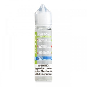Awesome Apple Sour Ice 50ml By Smoozie