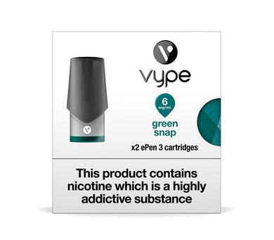 Vype ePen 3 Green Snap Cartridges
