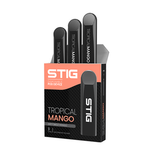 Stig Disposable Pod Device 20mg Nic Salt - 1.2ml 3 Pack