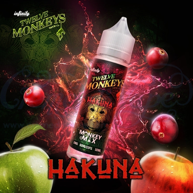 Hakuna 50ml By Twelve Monkeys