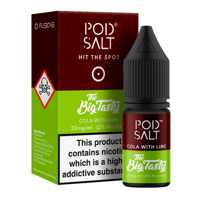 Cola With Lime NS20 By Pod Salt