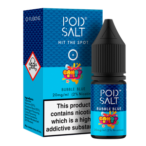 Bubble Blue NS20 By Pod Salt