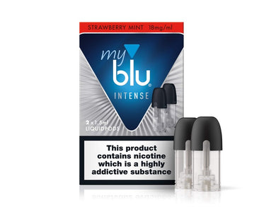 myblu STRAWBERRY MINT INTENSE LIQUIDPOD