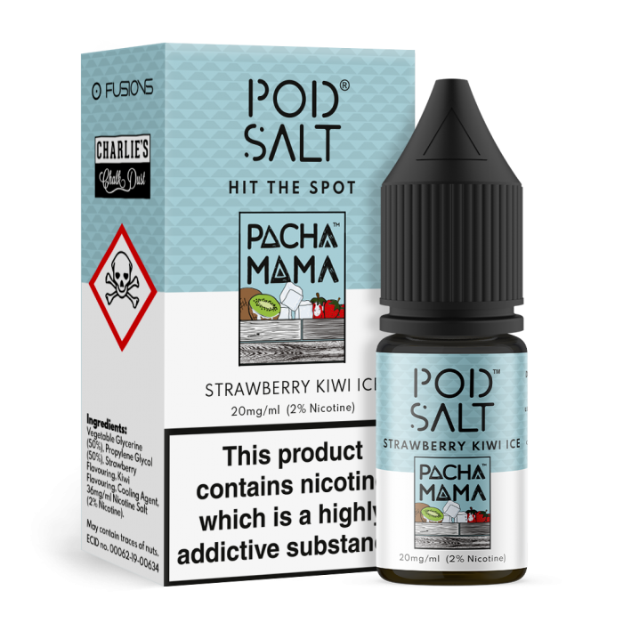 Strawberry Kiwi Ice NS20 By Pod Salt