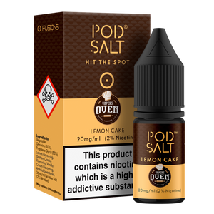 Lemon Cake NS20 By Pod Salt