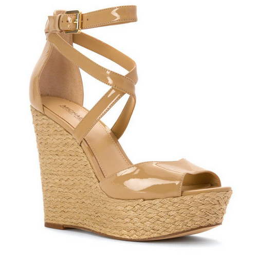 Michael Kors Gabriella Wedge - nude