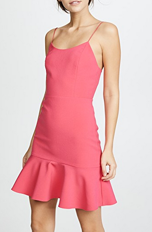 ALice & Olivia Andalasia Dress - watermelon