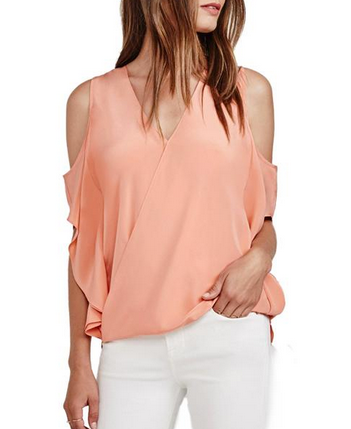 Bailey44 Azalea Top - peach