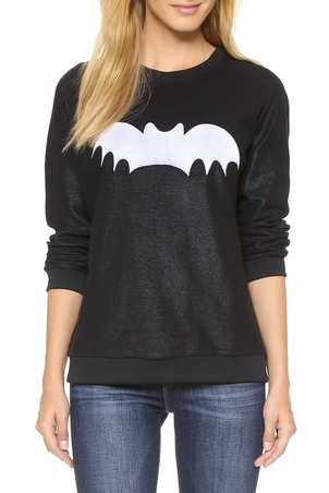Zoe Karsen Bat Sweater - black