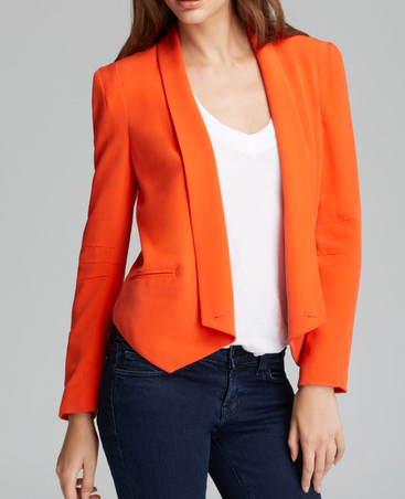 Rebecca Minkoff Becky Jacket - orange