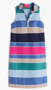 Vilagallo Cassie Stripe Dress - multi