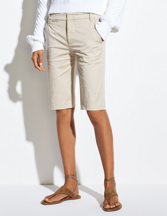 Vince Coin Pocket Bermuda Short - Beige