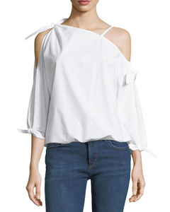 Joie Colissa One Shoulder Top - white