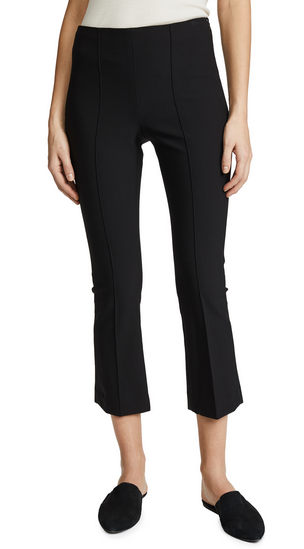 Vince Crop Flare Legging - black
