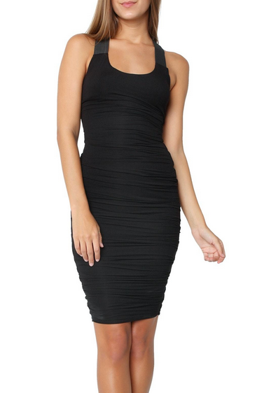 Bailey44 Crossbar Dress - black
