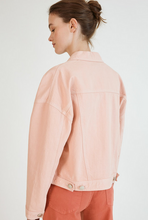 Load image into Gallery viewer, Suncoo Dea Denim Jacket - peach