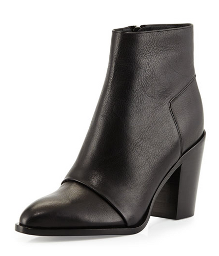 Vince Shoes Ennis Bootie - black