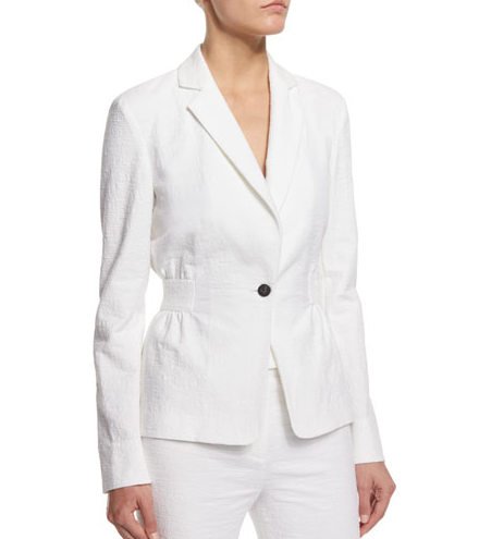 DVF Gavyn Jacket - white