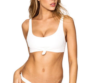 Frankie Greer Top - white