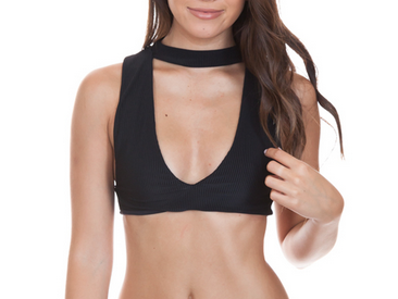 Frankies Hanalei Top - black