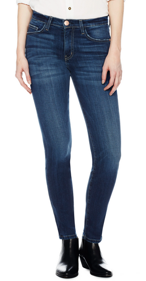 Current/Elliott The High Waist Ankle Skinny - darcy