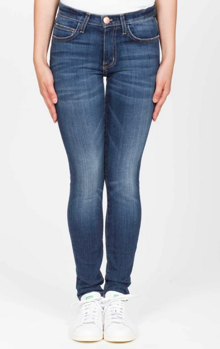 Current/Elliott The High Waist Ankle Skinny - atwater