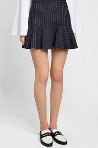 Zadig & Voltaire Joe Stripe Skirt - navy