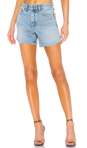 Grlfrnd Jourdan tomboy Short - denim