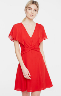 Parker Katie Dress - monaco red