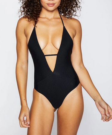 Frankies Lily Swimsuit - black