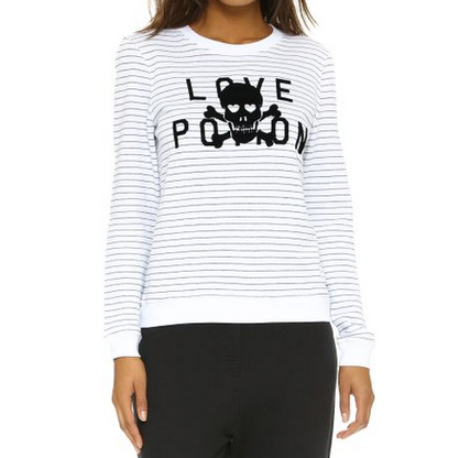 Zoe Karsen Love Poison Sweater - white