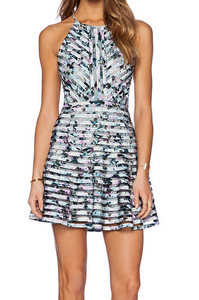 Parker Orion Printed Dress - multi